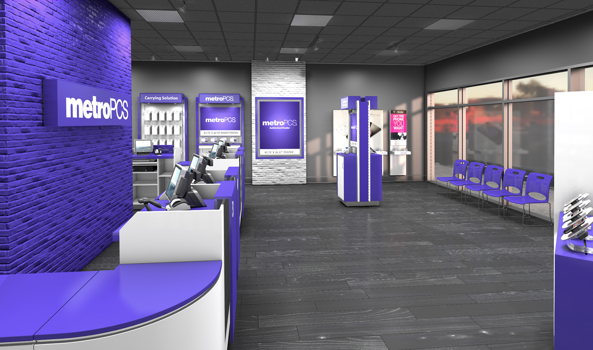 Metro PCS Store, Wireless for all, cellphones, prepaid phones, no contract phones, 4G LTE.