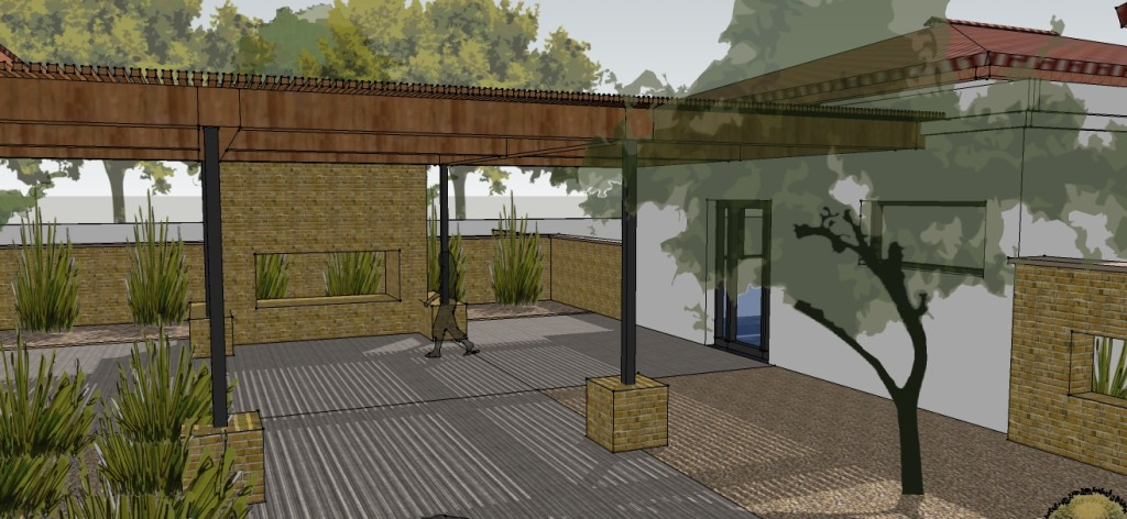option 1 - final - courtyard view
