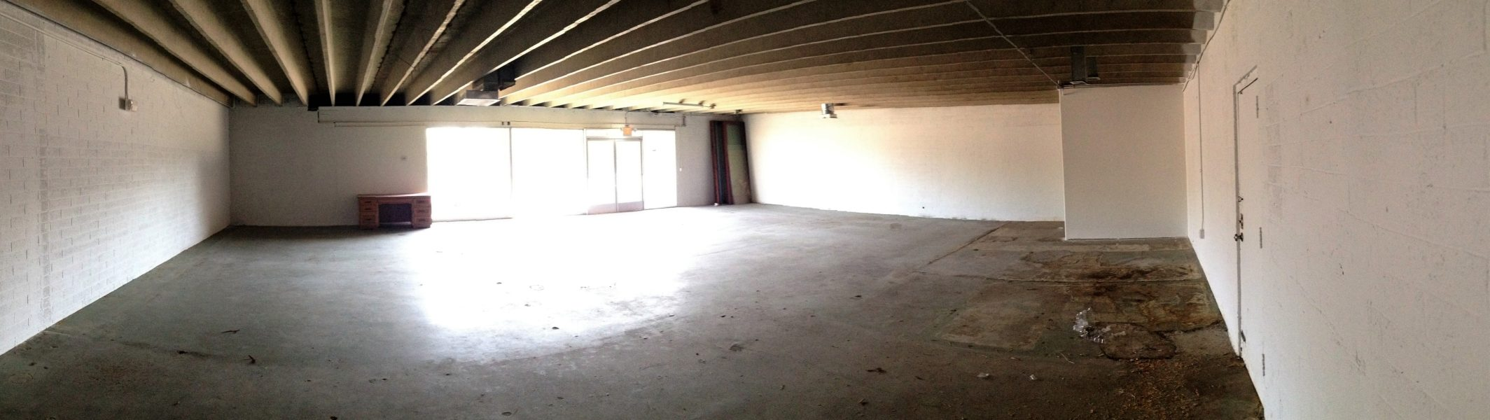 <p>Teaser: Here is the existing shell space for a great new build out in Phoenix on the boards at Reset Studios. Awesome bones of 4&#8243; high concrete block units and a roof of exposed concrete double T&#8217;s. This  3,227 SF project is part of a larger project with an awesome [&hellip;]</p>